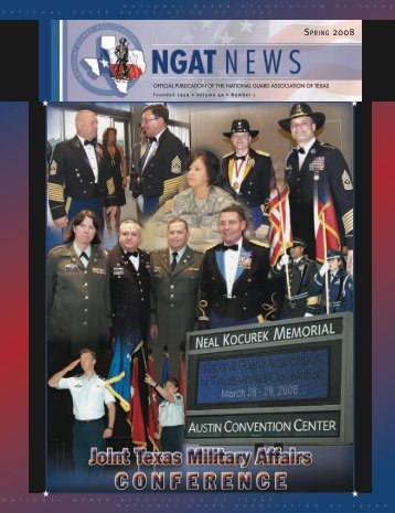 Spring 2008 - National Guard Association of Texas