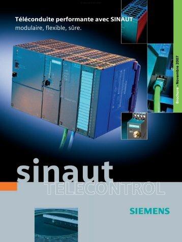 Téléconduite performante avec SINAUT modulaire ... - Siemens