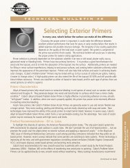 Selecting Exterior Primers - Cabot Stains