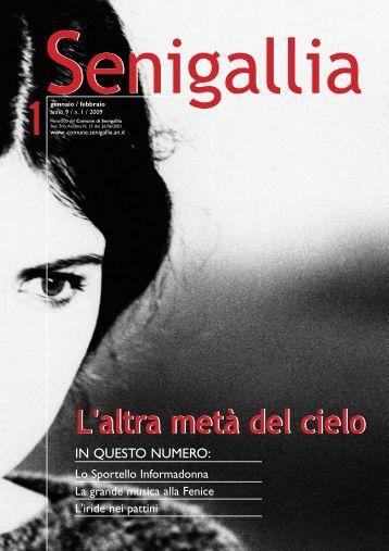 (febbraio 2009) anno 9 numero 1 - Comune di Senigallia