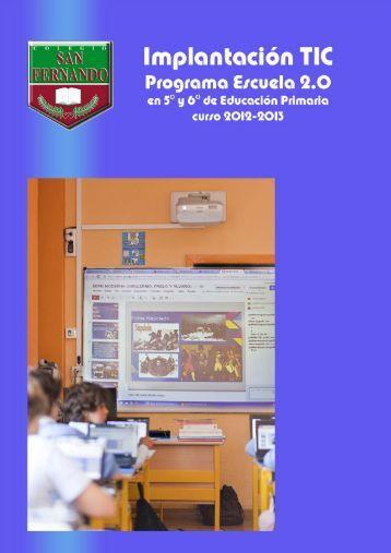 Colegio San Fernando - Implantación TIC 1