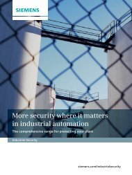 More security where it matters in industrial automation