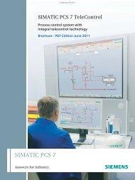 SIMATIC PCS 7 TeleControl - Automation Technology - Siemens