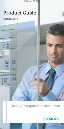 Totally Integrated Automation - Automation Technology - Siemens