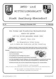 Nr. 10-2013 - Stadt Saalburg-Ebersdorf