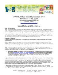 Exhibitor Rules and Regulations - Virtual School Symposium 2010 ...