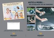 Auto & Mobil Prospekt - JEMAKO - how to clean?
