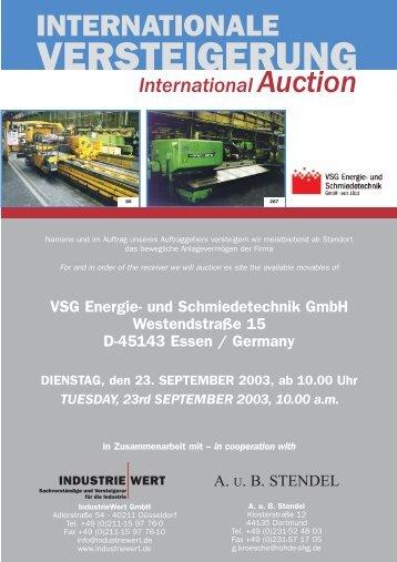International Auction - IndustrieWert GmbH