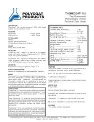 Themecoat 112 (May 2011) - Polycoat Products