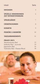 massagen - Vita Classica Therme - Seite 3