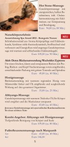 massagen - Vita Classica Therme - Seite 5