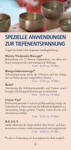 massagen - Vita Classica Therme - Seite 6