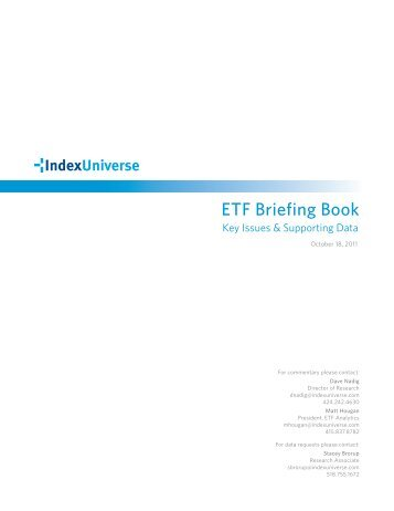 Big bets and black swans a presidential briefing book etf briefing book indexuniverse fandeluxe Image collections