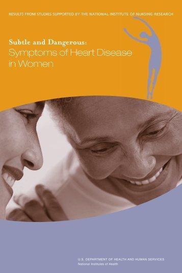 Subtle and Dangerous: Symptoms of Heart Disease in Women