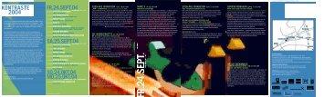 kontraste 2004 fr . 2 4 . sep t. 0 4 sa . 2 5 . sep t. 0 ... - kulturmanager.at
