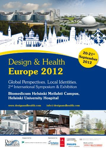 Europe 2012 - the International Academy of Design and Health