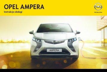 Opel Ampera 2013 – Instrukcja obsługi – Opel Polska