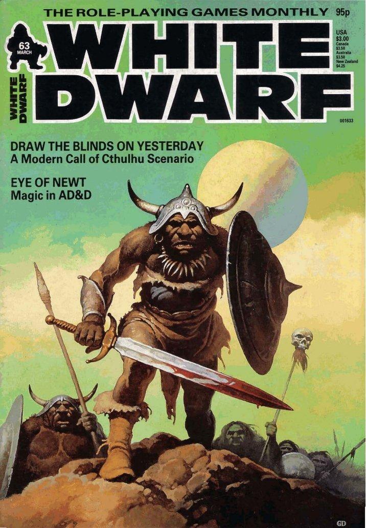 white dwarf magazine