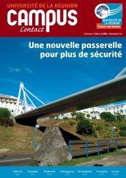 Une nouvelle passerelle pour plus de sécurité - Université de la ...