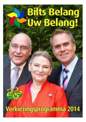 Verkiezingsprogramma-2014-Bilts-Belang