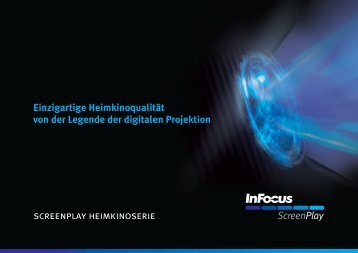 InFocus ScreenPlay Series Brochure (German)