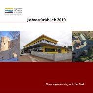Jahresrückblick 2010 - Ingelheim