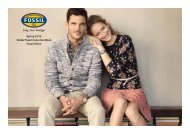 Spring 2012 Global Fossil Collection Book Fossil Uhren