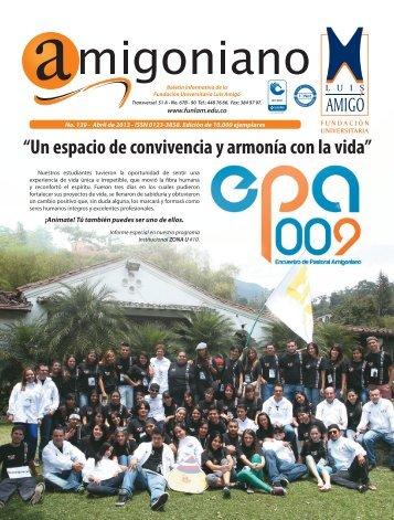 Amigoniano No 138 - Diciembre de 2013 - Fundación Universitaria ...