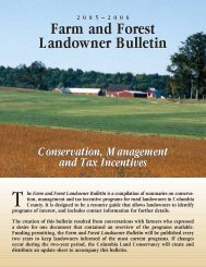 Agricultural Assessment - Columbia Land Conservancy