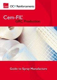 GRC Production - OCV Reinforcements