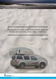 Evaluation of a laser Land-based Mobile Mapping System ... - TU Delft