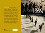Iraq in Transition - Open Society Policy Center