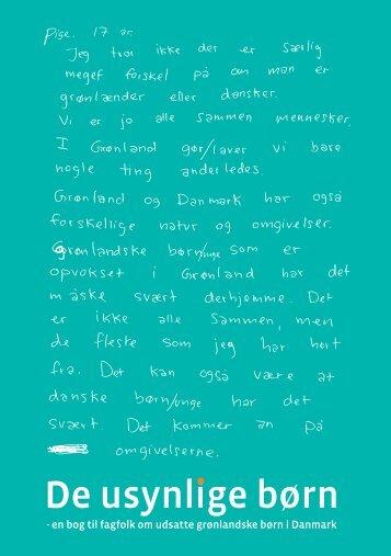 De usynlige børn - Foreningen Grønlandske Børn