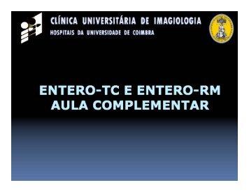 Enterografia e enteroclise por TC