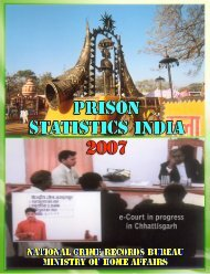 Prison Statistics - National Crime Records Bureau
