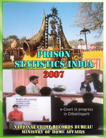 Prison Statistics - National Crime Records Bureau