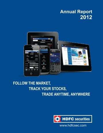 HDFC Securities Annual Report 11-12.pmd - HDFC Bank