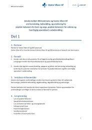 Avtale om inn- og utskriving av pasienter - psykisk ... - Vestre Viken HF