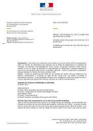 Compte rendu des groupes de travail - DREAL Bourgogne