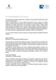 Le 12+1 Opere Preziose. pdf - Gallery