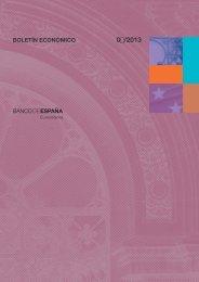 Boletín Económico. Marzo 2013 - Expansión