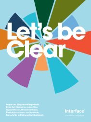 Lets be Clear - bei Interface