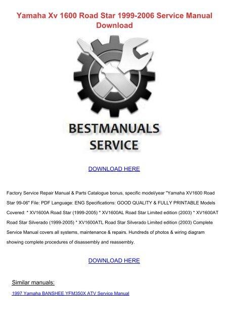 2006 yamaha yz450f service repair manual motorcycle pdf