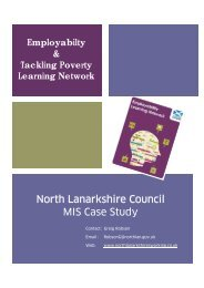 NLC MIS Case Study - Employability in Scotland