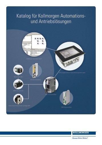 Kollmorgen Automationsloesungen Katalog de-de rev C