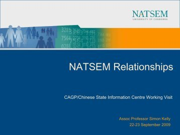 Modelling social security and taxation in APPSIM - NATSEM