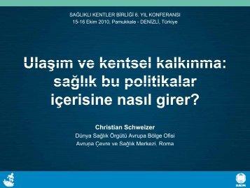 Ulaşım ve kentsel kalkınma - Türkiye Sağlıklı Kentler Birliği