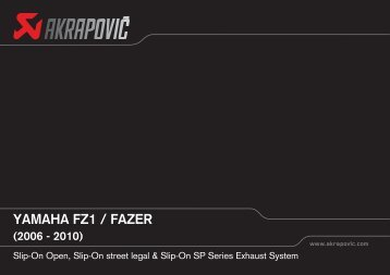 yamaha fz1 / fazer (2006 - 2010) - CarpiMoto
