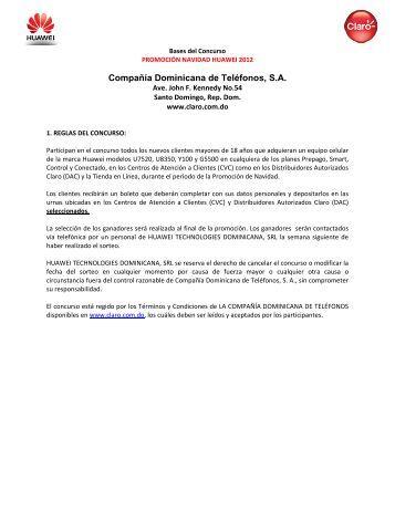 Compañía Dominicana de Teléfonos, S.A. - Claro