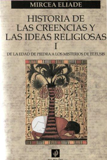 Historia de las Creencias Religiosas 1